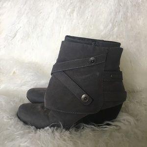 Gray Booties